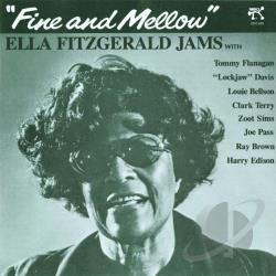 Fitzgerald, Ella - Fine and Mellow CD Cover Art