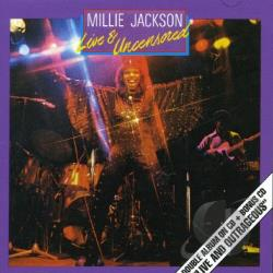 Jackson, Millie - Live and Uncensored CD Cover Art