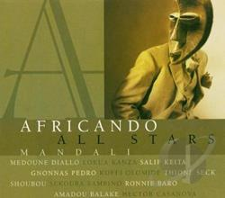 Africando - Mandali CD Cover Art