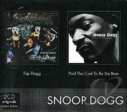 Snoop Dogg - Paid Tha Cost/Topp Dog CD Cover Art