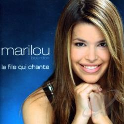 Bourdon, Marilou - La Fille Qui Chante CD Cover Art
