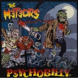 Meteors - Psychobilly CD Cover Art