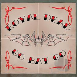 Royal Dead - Go Bat Go CD Cover Art