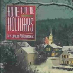 London Philharmonic - Home For The Holidays CD Cover Art