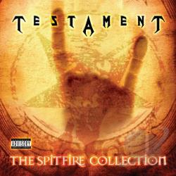 Testament - Spitfire Collection CD Cover Art