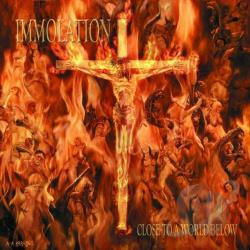 Immolation - Close to a World Below CD Cover Art
