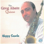 Abate, Greg - Happy Samba CD Cover Art