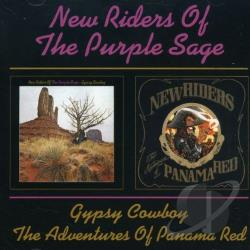 New Riders Of The Purple Sage - Gypsy Cowboy/The Adventures of Panama Red CD Cover Art