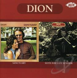 Dion - Sanctuary/Suite for Late Summer CD Cover Art