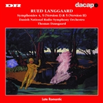 Danish National Radio So / Dausgaard / Langgaard - Rued Langgaard: Symphonies No. 4 & 5 (Versions 1 and 2) CD Cover Art