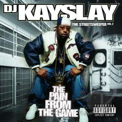 DJ Kayslay - Streetsweeper, Vol. 2: The Pain from the Game CD Cover Art