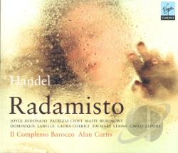 Handel, G.F. - Handel: Radamisto CD Cover Art