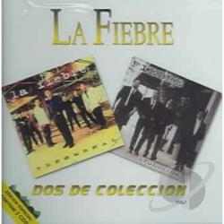 La Fiebre - DOS De Coleccion Vol 1 CD Cover Art