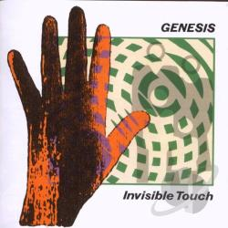 Genesis - Invisible Touch CD Cover Art