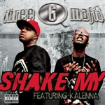 Three 6 Mafia - Shake My DB Cover Art