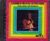 Anderson / Jones / McRae, Carmen - Carmen McRae & Friends CD Cover Art