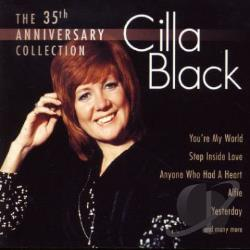 Black, Cilla - 35th Anniversary Collection CD Cover Art