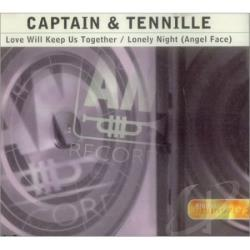 Captain & Tennille - Love Will Keep Us Together/Lonely Nights CD Cover Art
