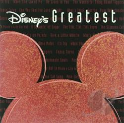 Disney - Disney's Greatest Hits, Vol. 3 CD Cover Art