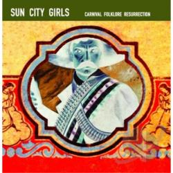 Sun City Girls - Carnival Folklore Resurrection, Vol. 13: 98.6 Is Death CD Cover Art