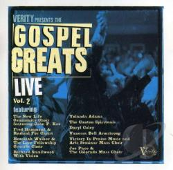 Gospel Greats Live, Vol. 2 CD Cover Art