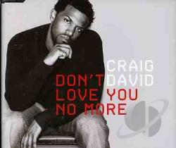 David, Craig - Don't Love You No More CD Cover Art