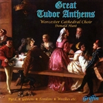 Worcester Cathedral - Great Tudor Anthems CD Cover Art