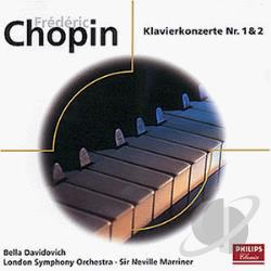 Davidovich / Marriner - Klavierkonzerte CD Cover Art