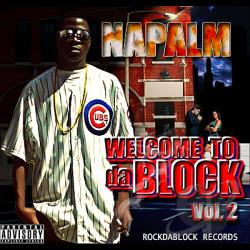 Napalm - Welcome 2D A Block*Vol. 2 CD Cover Art