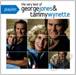 Jones, George / Wynette, Tammy / Wynette,Tammy & Jones,George - Playlist: The Very Best of George Jones & Tammy Wynette CD Cover Art