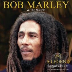 Marley, Bob / Marley, Bob & The Wailers - Legend: 50 Reggae Classics LP Cover Art