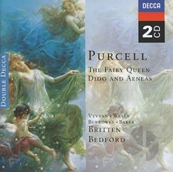Burrowes / Hodgson / Purcell / Vyvyan / Wells - Purcell: Fairy Queen; Dido & Aeneas CD Cover Art