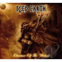 Iced Earth - Overture of the Wicked CD Cover Art