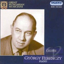 Chopin / Ferenczi, Gyorgy - Chopin CD Cover Art