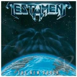 Testament - New Order CD Cover Art