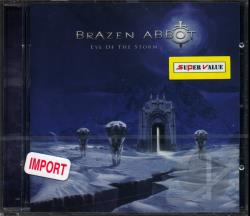Brazen Abbot - Eye of the Storm CD Cover Art