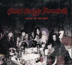 Crank County Daredevils - Livin In The Red CD Cover Art