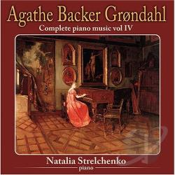 Grondahl, A.B. - Complete Piano Music Vol. 4 CD Cover Art