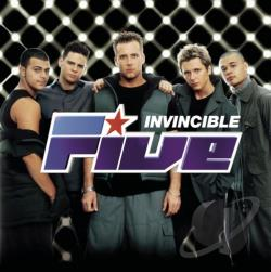 5ive - Invincible CD Cover Art