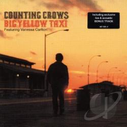 Counting Crows - Big Yellow Taxi CD Cover Art