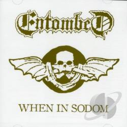 Entombed - When in Sodom CD Cover Art