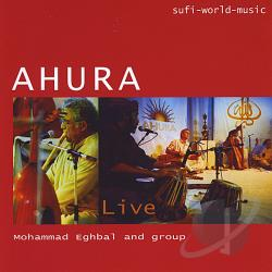 Ahura - Ahura Live CD Cover Art