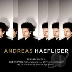 Haefliger, Andreas:pno - Perspectives 5: Beethoven and Liszt CD Cover Art
