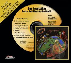 Ten Years After - Rock & Roll Music to the World CD Cover Art