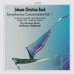 Bach, J.C. - Johann Christian Bach: Symphonies Concertantes Vol. 1 CD Cover Art