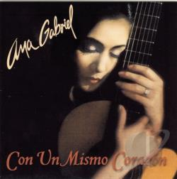 Gabriel, Ana - Con un Mismo Corazon CD Cover Art