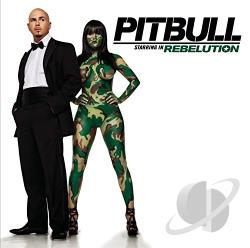 Pitbull - Pitbull Starring in Rebelution CD Cover Art