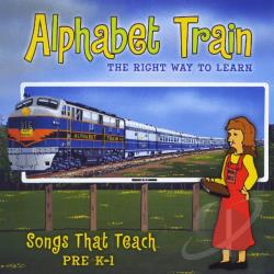 Miss Dee - Alphabet Train: The Right Way To Learn CD Cover Art
