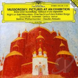 Abbado / Bpo / Mussorgsky - Mussorgsky: Pictures at an Exhibition CD Cover Art