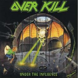 Overkill - Under the Influence CD Cover Art